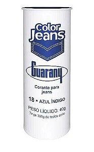 CORANTE DIRETO COLOR JEANS 40 G COR 18 AZUL INDIGO guarany