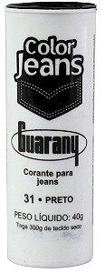 CORANTE DIRETO COLOR JEANS 40 G COR 31 PRETO guarany