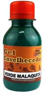 GEL ENVELHECEDOR TRUE COLORS VERDE MALAQUITA 100 ML
