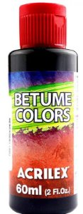 BETUME COLORS EBANO 60ML ACRILEX