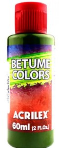 BETUME COLORS VERDE OLIVA 60ML ACRILEX