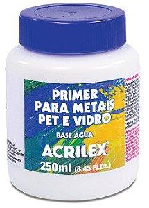PRIMER PARA METAIS PET VIDRO ACRILEX 250 ML