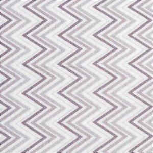 Feltro Color Baby Chevron santa fé - cor 5053638 Cinza Claro e Escuro - Medidas 0,40x1,40