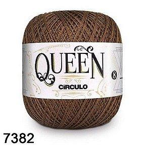FIO QUEEM 8 2 100GR 678MT COR 7382 chocolate