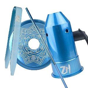 Kit Acessórios para Narguile - Azul KIT12