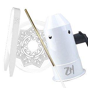 Kit Acessórios para Narguile - Branco KIT14