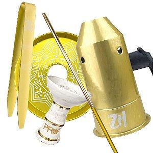 Kit Acessórios para Narguile - Dourado KIT24