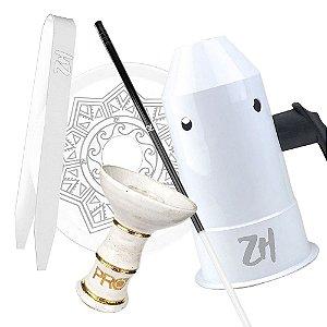 Kit Acessórios para Narguile - Branco KIT21