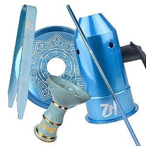 Kit Acessórios para Narguile - Azul KIT20