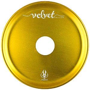 Prato Anubis P 18cm Velvet - Dourado