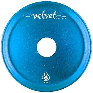 Prato Anubis P 18cm Velvet - Azul Claro