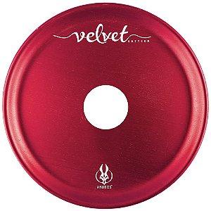 Prato Anubis P 18cm Velvet - Vermelho