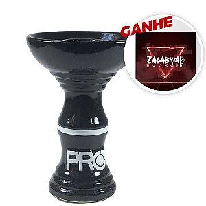 Rosh Pro Hookah Relevo Clássico Preto + Brinde Papel Alumínio ZH