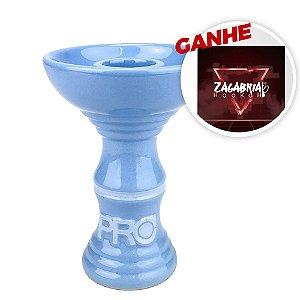 Rosh Pro Hookah Relevo Clássico Azul Bebe + Brinde Papel Alumínio ZH