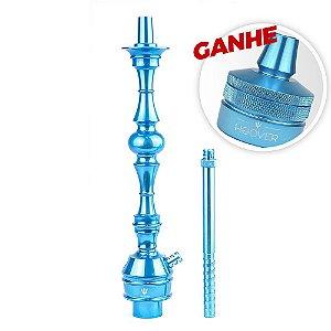 Stem Narguile Triton Up Azul Claro + Brinde Hoover