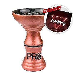 Rosh Pro Hookah Relevo Especial Rosê + Brinde Papel Alumínio ZH