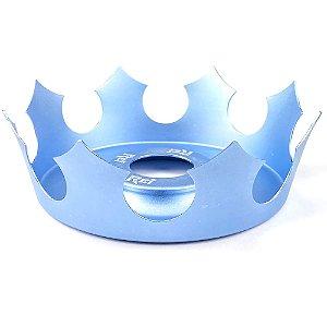 Prato Coroa Rei Médio 19cm - Azul Claro