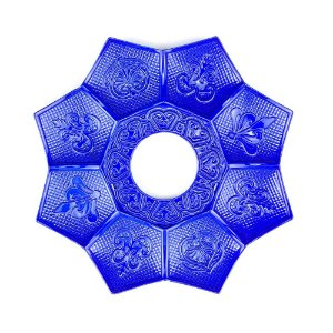 Prato EBS Hookah New Lotus Mini 16cm - Azul Escuro