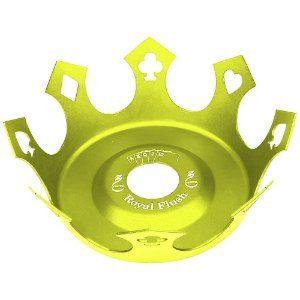 Prato Zenith Coroa Royal Flush - Verde Neon