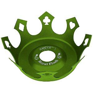 Prato Zenith Coroa Royal Flush - Verde Escuro
