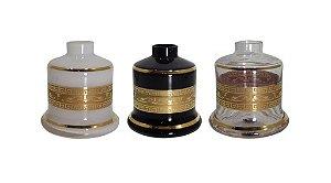 Vaso Shisha Glass Evolution Grego - Escolha a Cor