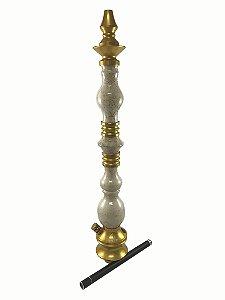 Stem Narguile Invictus Elegance - Dourado/Marmore