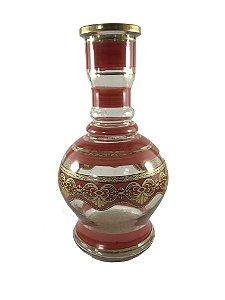 Vaso Jumbo Vermelho 30cm