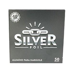 Papel Alumínio Silver Foil