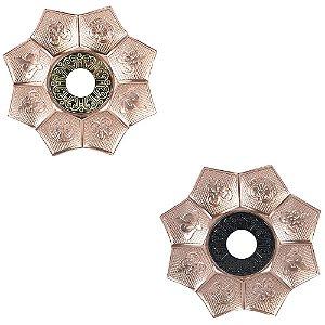 Prato EBS Hookah New Lotus 27cm G - Escolha a Cor