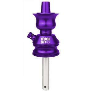 Stem Narguile Kalle Hookah Mini On - Roxo