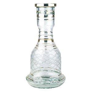 Vaso Sino Egipcio 30cm Transparente - Modelo 2