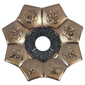 Prato EBS Hookah New Lotus G 27cm - Bronze/Preto