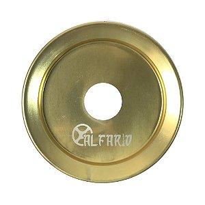 Prato Al Farid Lair Pequeno 18cm - Dourado