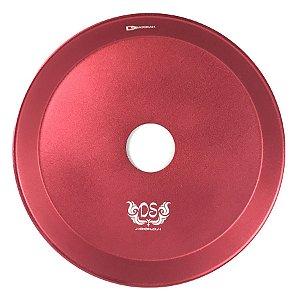 Prato DS Hookah G 24CM - Vermelho
