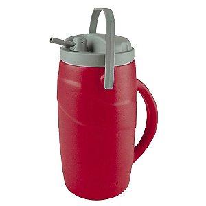 Garrafa Térmica Gufani 2 Litros - Vermelha
