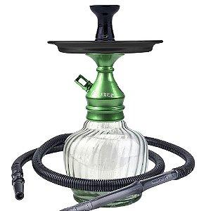 Kit Narguile Completo Al Farid Verde- KIT144