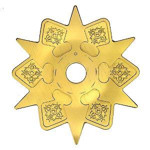Prato Amazon Hookah Astéris - Dourado