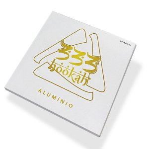 Kit Papel Aluminio 333 Hookah x5 250 Folhas