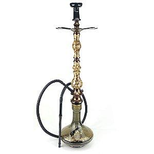 Kit Narguile Completo Amazon Luxury Piopo Genie Fume