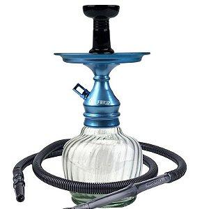 Kit Narguile Completo Al Farid Azul KIT206