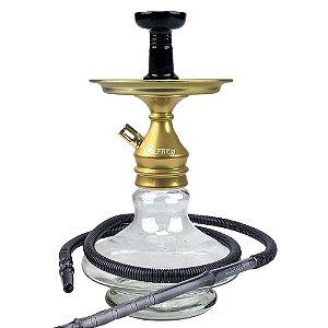 Kit Narguile Completo Al Farid Dourado KIT210