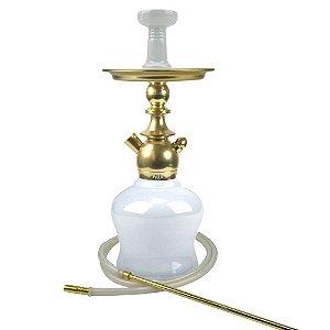 Kit Narguile Completo Kini Dourado KIT251