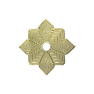 Prato Zenith Flush Mini - Dourado