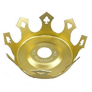 Prato Zenith Coroa Royal Flush - Dourado