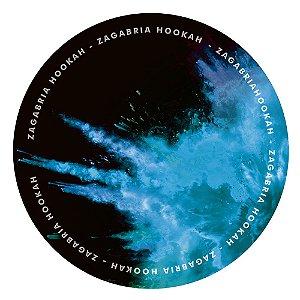 Tapete Zagabria Hookah Smoke - Azul