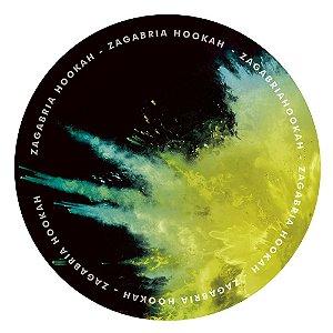 Tapete Zagabria Hookah Smoke - Amarelo e Verde