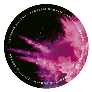 Tapete Zagabria Hookah Smoke - Rosa