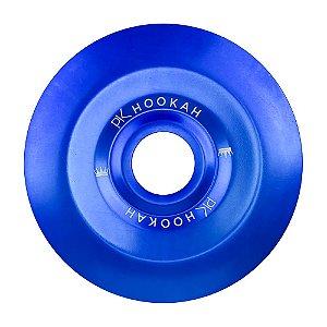Prato PK Hookah Médio 19cm - Azul Escuro