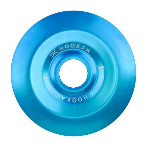 Prato PK Hookah Médio 19cm - Azul Claro