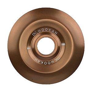 Prato PK Hookah Médio 19cm - Bronze